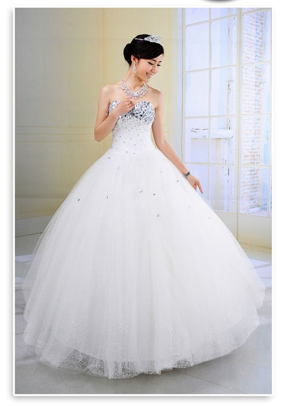 Wedding Dresses With Glitter : Glitter wedding dresses bridesmaid gowns
