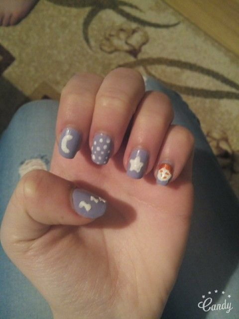 Beauty nails_ Good night
