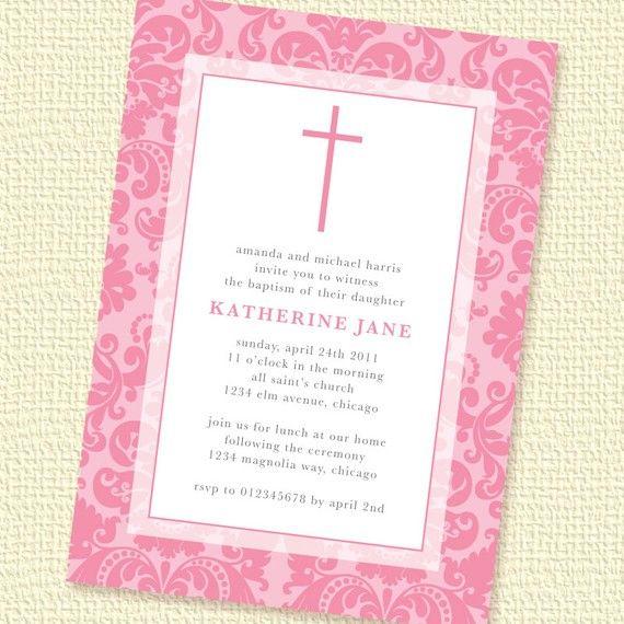 Free Christening Invitation Maker