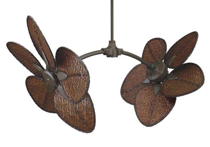 Ceiling Fan Gorgeous Dual Head Ceiling Fan: Fanimation The Caruso Ceiling Fan Fpob Caisda In Oil Rubbed  Dual Head Rotational Ceiling Fan Hunter Dual Head Ceiling Fan