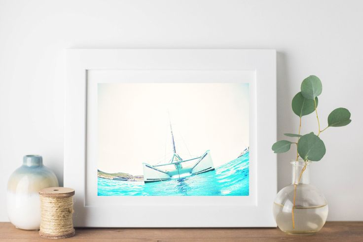 Sea Mediterranean Photography Greece print sailing Wall Art Nautical Decor teal Wall Decor Elafonisos-Coastal modern panoramic art by S4StarSbySiSSy on Etsy https://www.etsy.com/ca/listing/451573870/sea-mediterranean-photography-greece