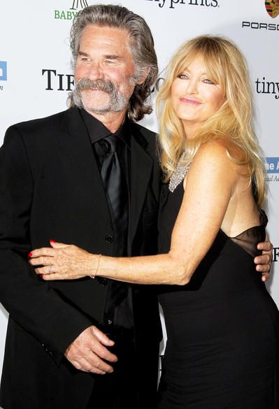 13 Famous Couples Who Will Never Ever Break Up : Goldie Hawn & Kurt Russell