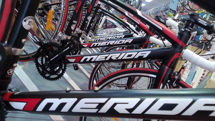 The 'Merida Triangle' at CELL Bikes Stanmore!