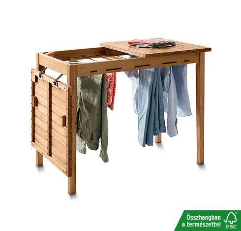 Kerti asztal, akác