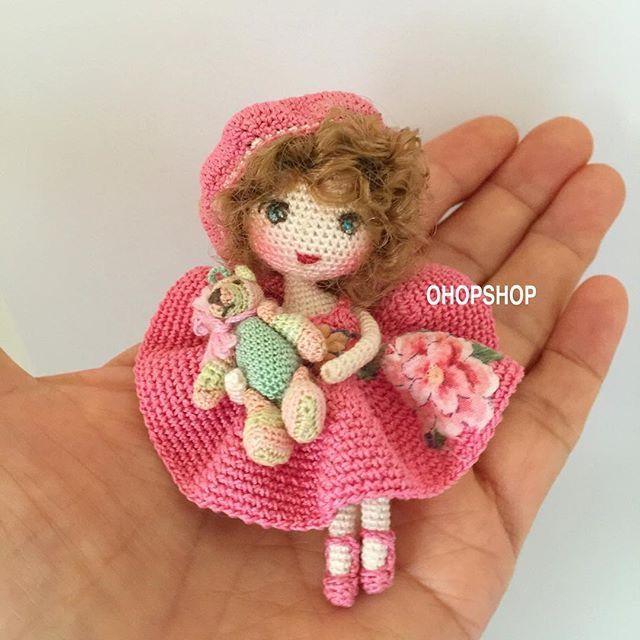 445 Best Mini Amgurumi Microminiatures Images On Pinterest