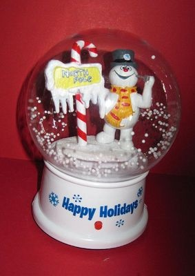 Outdoor Christmas Globes