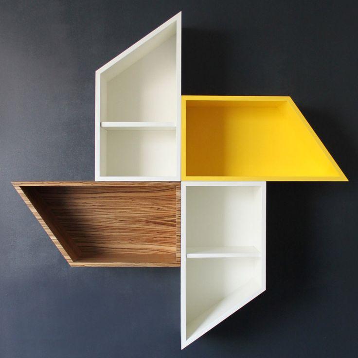 Beautiful Wind Vane Bookcase by E1E4