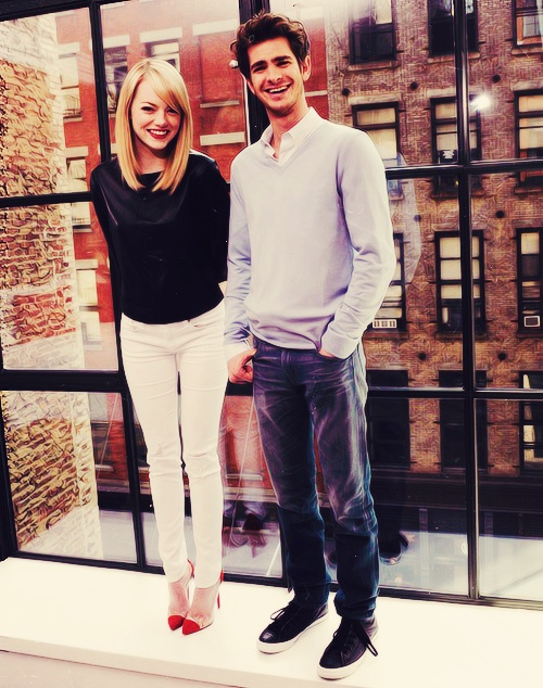 emma stone and andrew garfield dating tumblr Andrew garfield: how i fell for emma stone emma stone and andrew garfield attend the us weekly first broke the news last summer that the pair had begun dating.