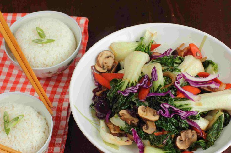 This classic stir-fry featuring the versatile veggie, baby bok choy is great as a side dish for the family, or for meal for two. It is packed full of iron, vitamins A and C, fibre and calcium and adds a great crunch to your meal.