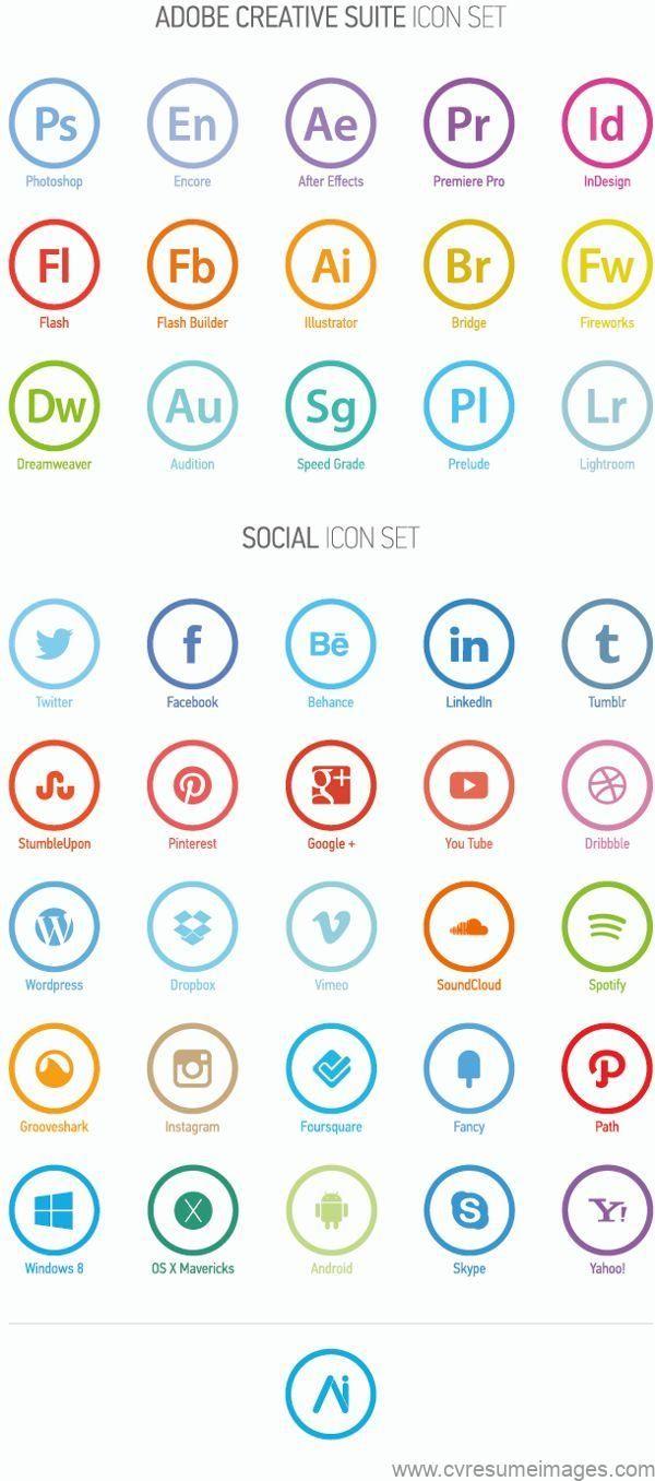 Minimal Icon Set By Andrea Incardona Via Behance Flat Design Flat Icons I Cv Resumes Cv Examples Resume Examples Resume Images Cv Graphique Modele De Cv Creatif Lettering