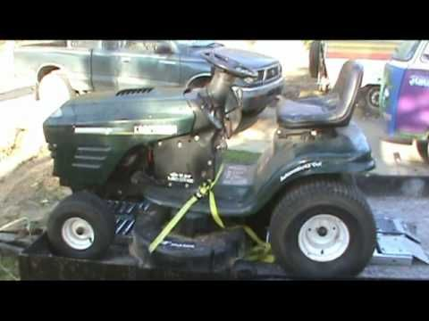 Craftsman Mower Repair-part 1 - YouTube