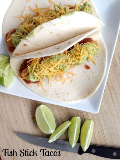 Fish stick tacos 5 dinners recipes for Fish stick tacos