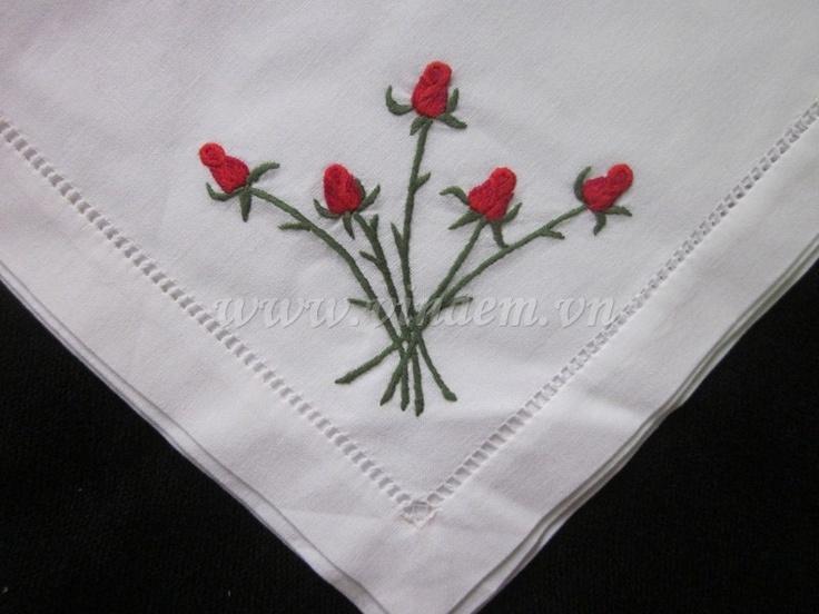 Embroidery Napkin - QNK 009
