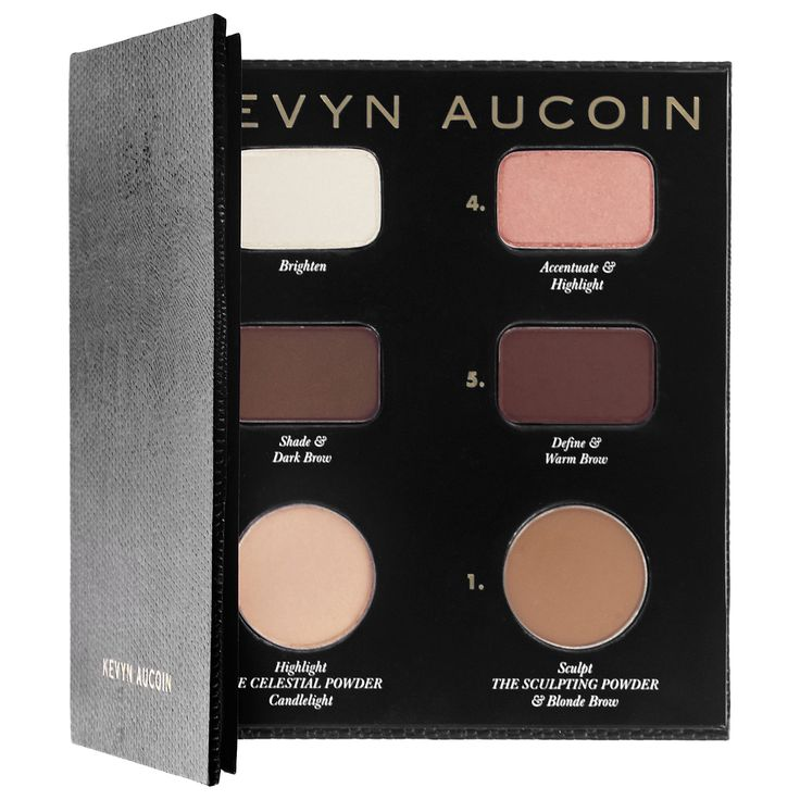 KEVYN AUCOIN The Contour Book The Art of Sculpting + Defining An exclusive Contour Book that contains all the shades, tips, and tricks for sculpting and contouring. #ContouringMagic #Sephora #Contour #MakeoversBySephora