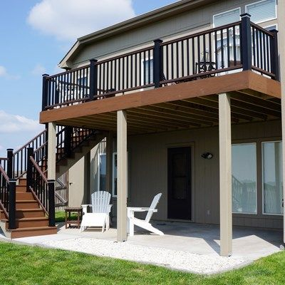 25 best ideas about second story deck on pinterest two for House plans with second story porch