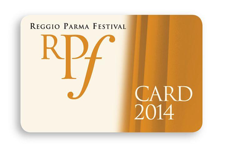 Reggio Parma Festival Card 2014