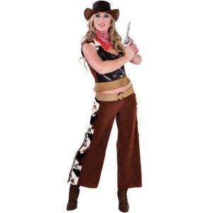 Déguisement cowgirl femme de luxe