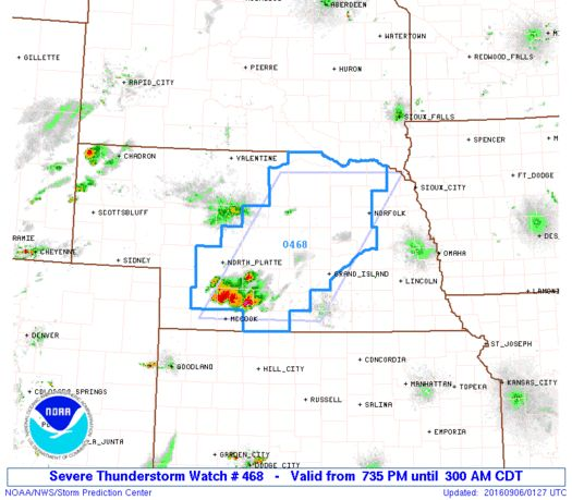 SPC Severe Thunderstorm Watch 468 Status Reports - http://blog.clairepeetz.com/spc-severe-thunderstorm-watch-468-status-reports/