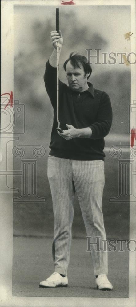 1973 Press Photo Earl Puckett at Illinois Section PGA Tournament  net35389