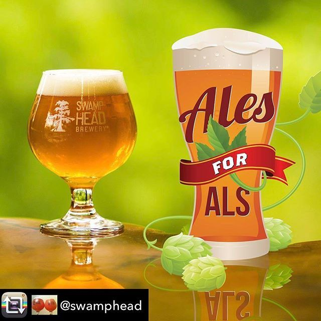 Hello Gator Nation! @swamphead's @alesforals is on tap today in Gainesville, FL! Repost from @swamphead using @RepostRegramApp - Swamp Head is proud to be participating alongside over one hundred breweries from across the nation in @alesforals with our new Tropical Honey Double IPA that will be tapped Thursday, July 13th at our tasting room. 🍺🍻🍺🍻🍺🍻🍺🍻🍺🍻🍺  Proceeds from every pint of our Ales for ALS IPA sold will benefit the ALS Therapy Development Institute and their fight to…