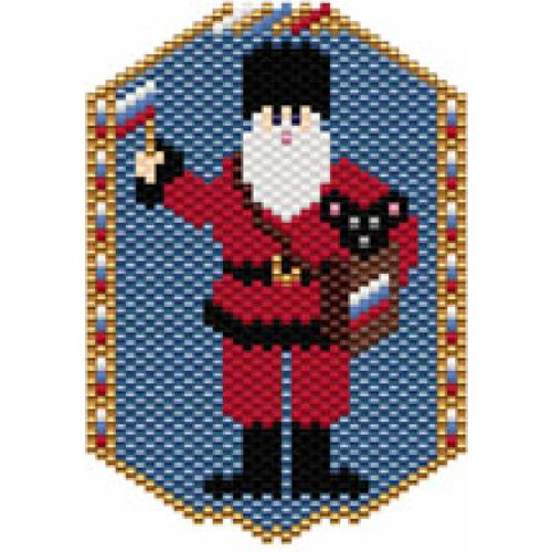 Santas of the World: Russia | Bead-Patterns