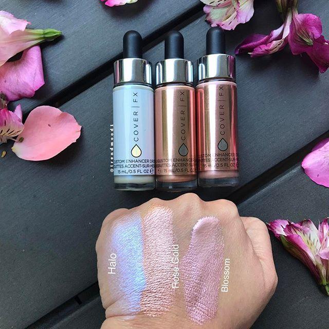 New shades of cover fx custom enhancer drops