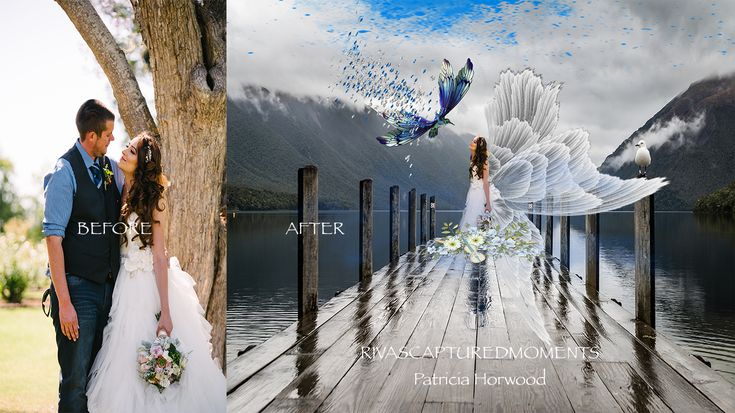 Before&After Creative Photography by Patricia Horwood www.rivascapturedmoments.com