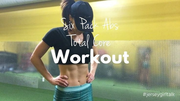Video - Ab Workout Routine and Six Pack Tips – Jersey Girl Talk