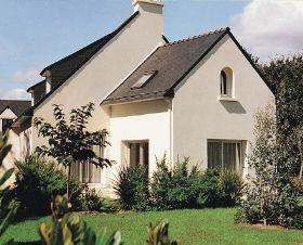 Casa de #vacaciones Ty Patrick en Tregunc, Bretaña sur. 8 personas, 5 piezas, 4 dormitorios.  #france