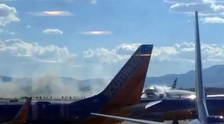 A London-bound British Airways flight caught fire at McCarran International Airport in Las Vegas on Tuesday, the airport stated. Two minor injuries have been reported and the fire was quickly extinguished. 9 Sep, 2015