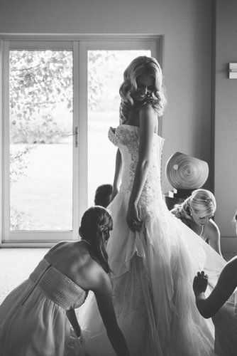 Must have pictures of the wedding gown! Not crazy about all of them but some are great :)