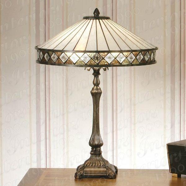 Tiffany Art Deco Table Lamps   Tiffany
