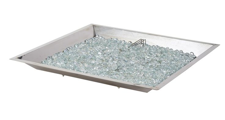 Glass Natural Gas / Propane Fire Pit Table