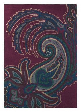 Roter Teppich Paisley Burgundy Von Ted Baker