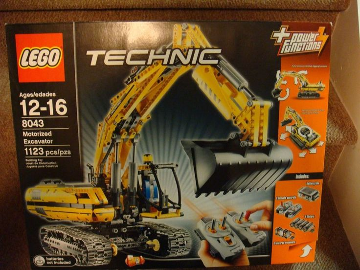 Lego Technic 8043 Motorized Excavator *** New & Sealed *** #LEGO