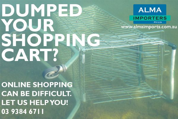 Don't lose your desired purchases if you encounter checkout problems.... Let us help you! Call or email us and we will give you a call back ASAP.  Retail: www.artflodesigns.com.au Wholesale: www.almaimports.com