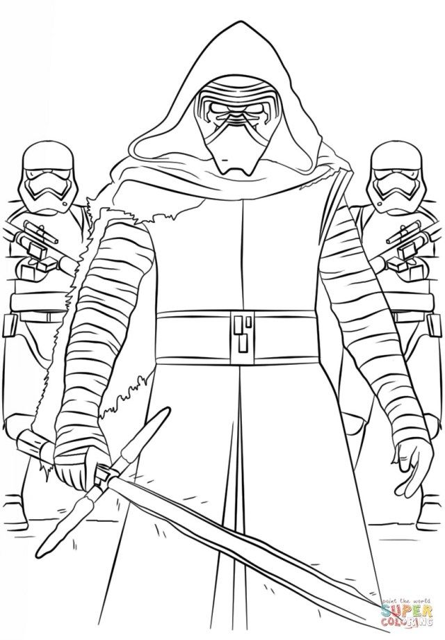 Great Image Of Kylo Ren Coloring Page Entitlementtrap Com Star Wars Coloring Book Star Wars Coloring Sheet Lego Coloring Pages