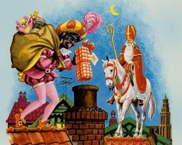 Sint en Piet op het dak.............. lb xxx.