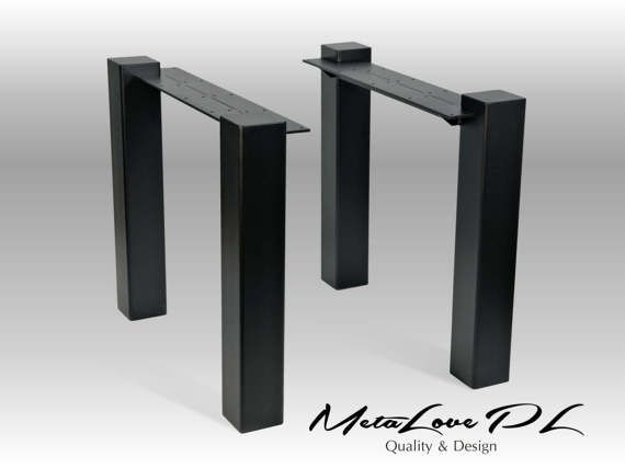 """28"""" MEGAN 100.100  Table Legs, Height 26"""" - 30"""" SET(2)"""
