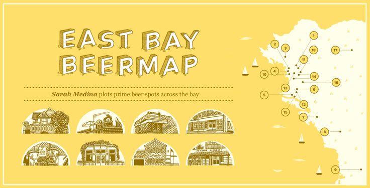 East Bay Beer Map