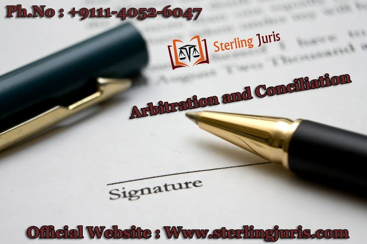Looking for an arbitration and conciliation lawyer? If yes, contact Sterling Juris. Our arbitrators and conciliators provide highly effective alternative dispute resolution solutions arising out of the commercial transactions between two or more parties. Our arbitration lawyers believe in high ethics of professionalism, transparency and integrity. They are highly experience in dealing with arbitration matters in India as well as abroad.  Contact No : 9111-4052-6047