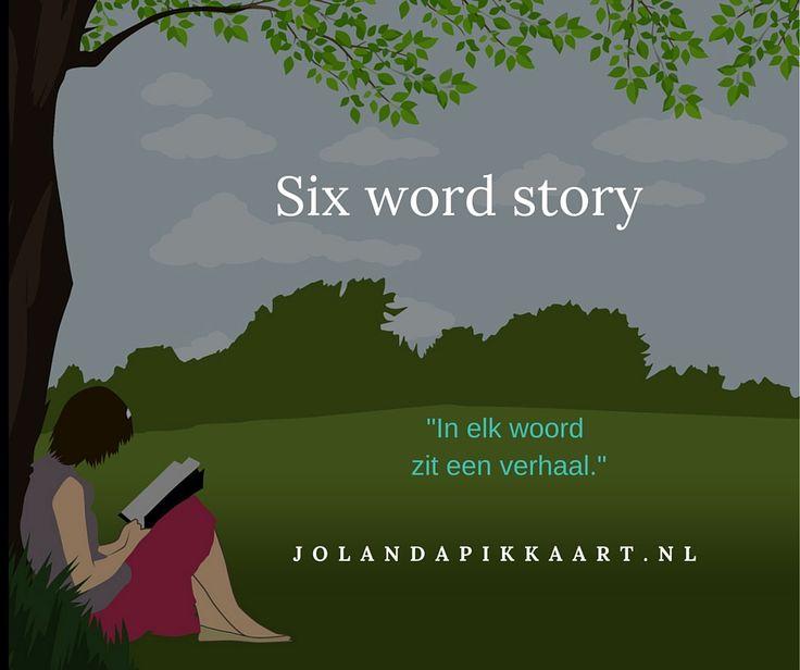 Schrijfoefening: Six word story