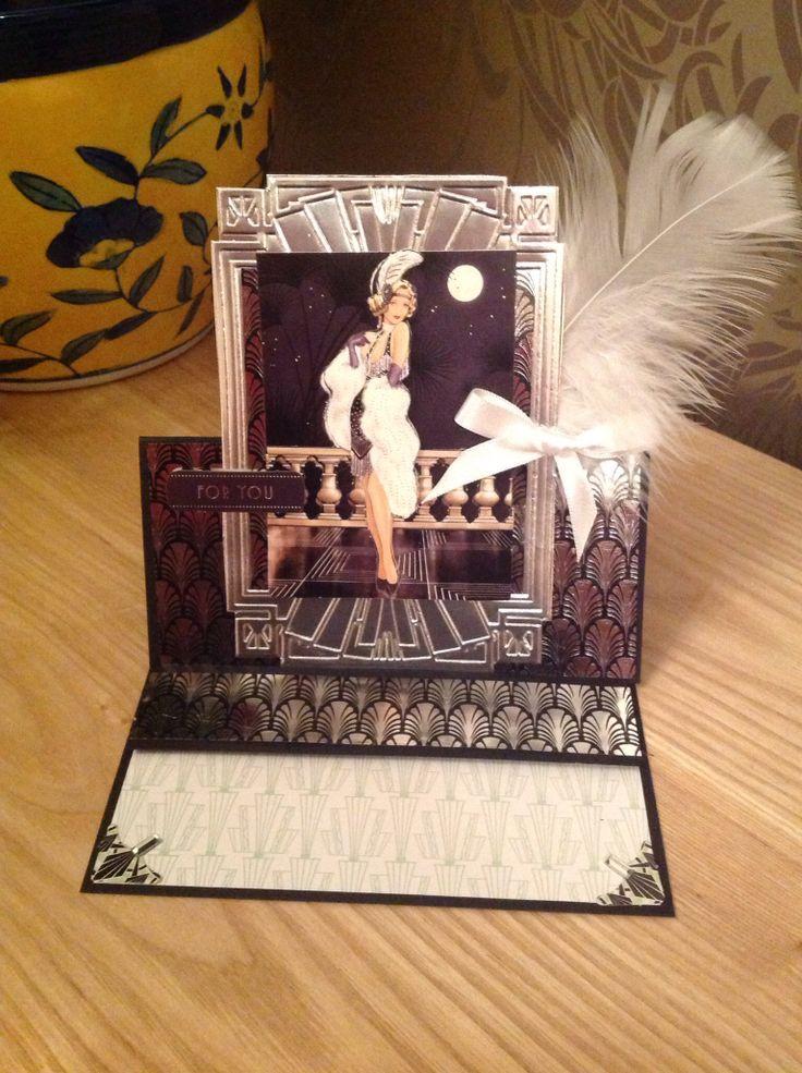 Docrafts Art Deco card
