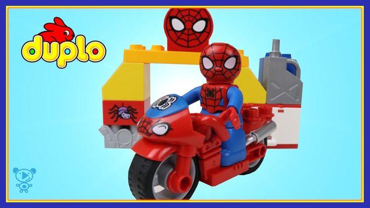 Spiderman Lego Duplo 10607 Spiderman Spielzeug Review Lego Stop Motion i...