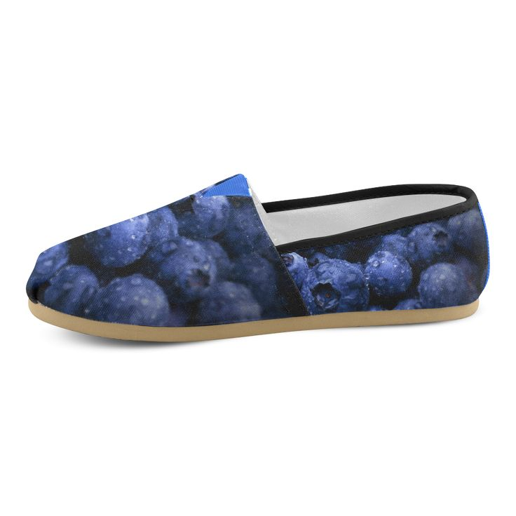 Blueberries Women's Causal Shoes. FREE Shipping. FREE Returns. #artsadd #sneakers #fruits