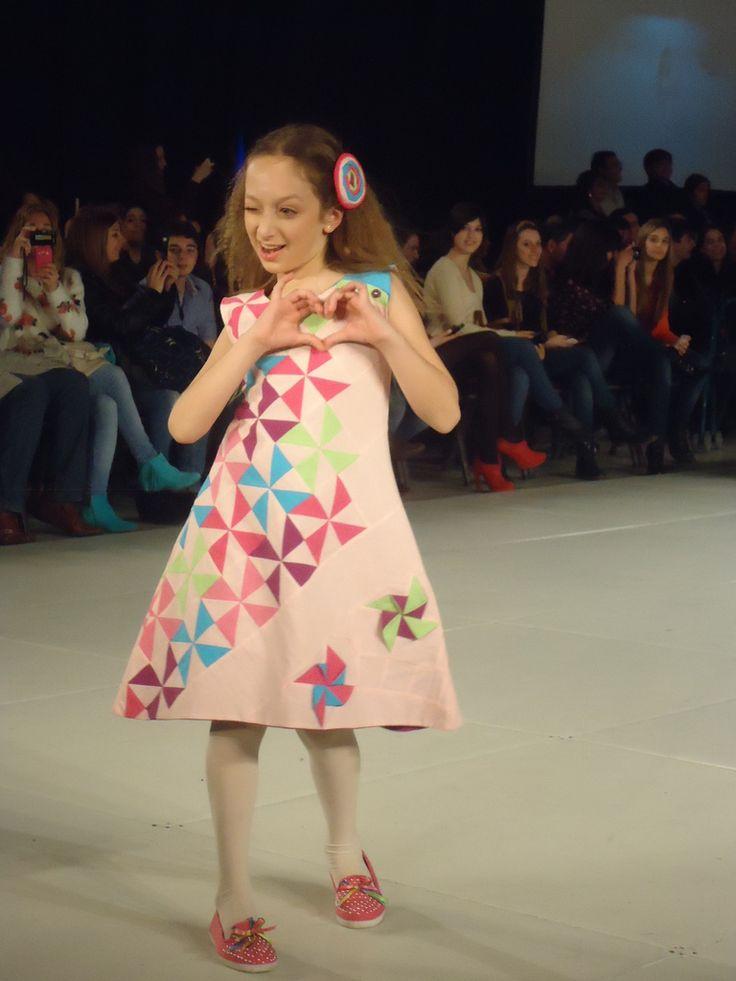 Vestido Molinetes ~ Diseño Exclusivo Dilu — Dilu