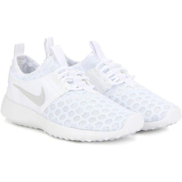 Nike Nike Juvenate Sneakers ($105) ❤ liked on Polyvore featuring shoes, sneakers, white, nike, nike shoes, white shoes, white trainers and nike footwear