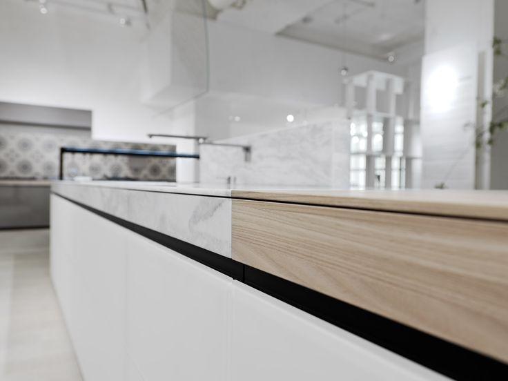 Valcucine #flagship store #milan #showroom #kitchens #cabinets