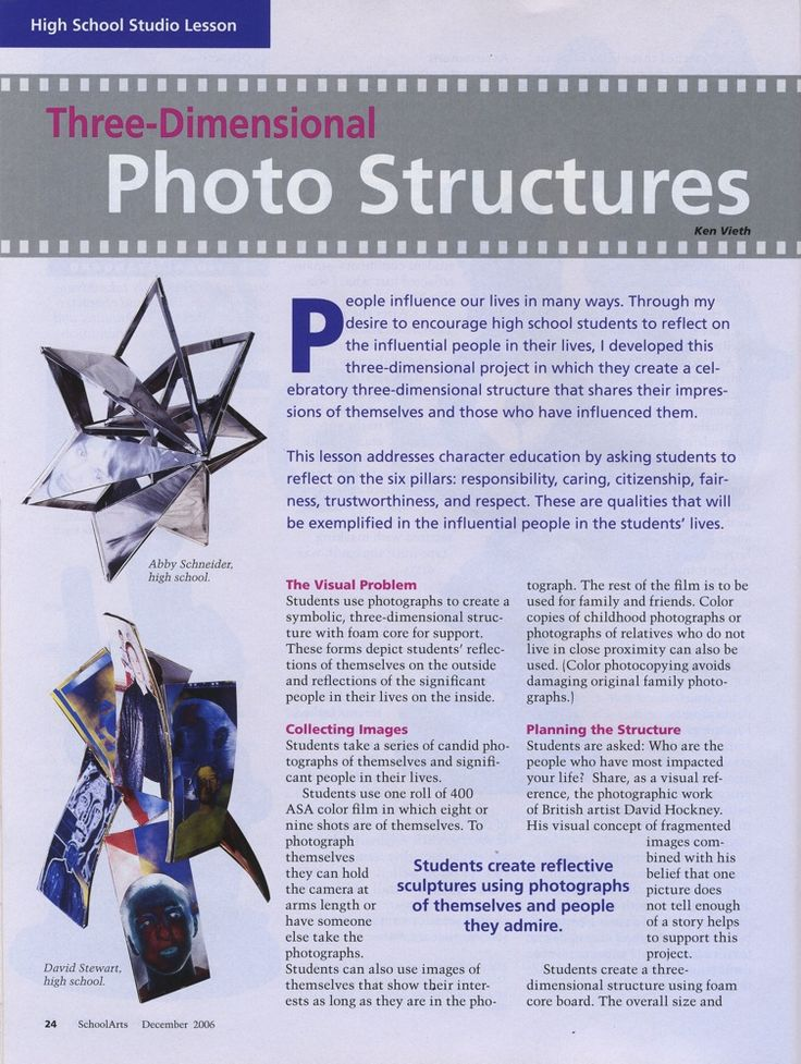 Photo Structures: change to digital photos and figure out printing