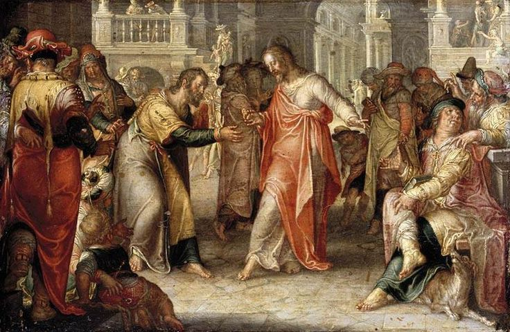 Joachim Wtewael - The Tribute Money - WGA25913 - Render unto Caesar - Wikipedia, the free encyclopedia